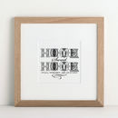 Personalised New Home Art Print