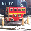 Wooden City Bus Playset