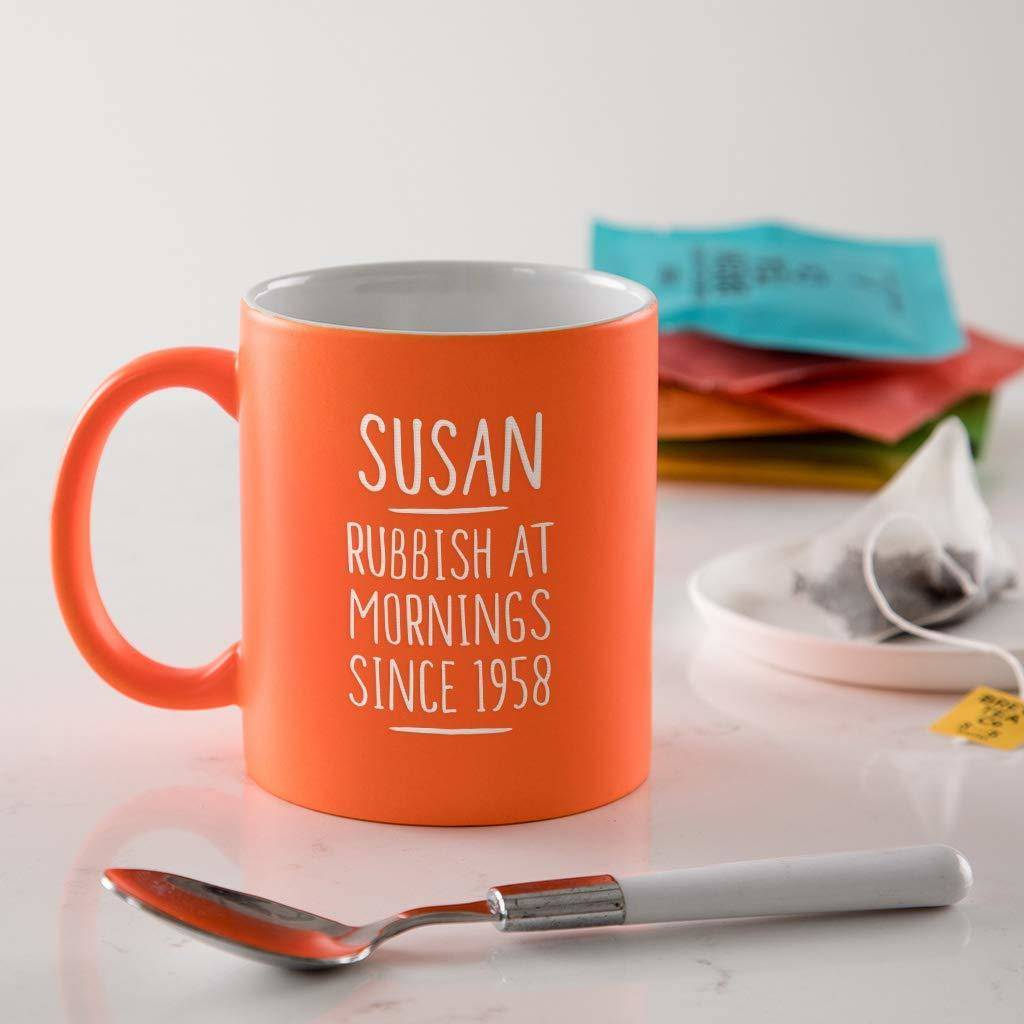 Personalised 60th Birthday Mug For Women