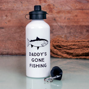 Personalised Fisherman's Water Bottle - picnics & barbecues