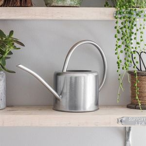 Galvanised Steel Indoor Plant Watering Can - gardener