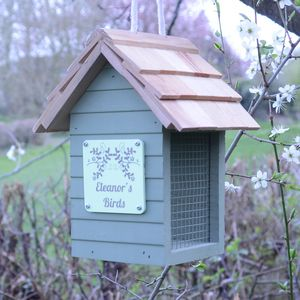 Personalised Peanut Bird Feeder - gifts for her