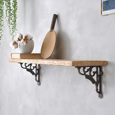 Waterloo Reclaimed Wood Shelf - home