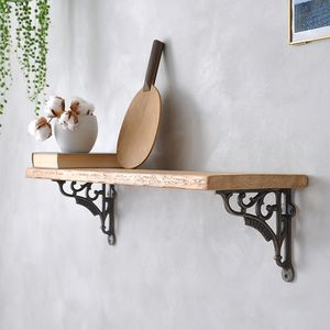 Waterloo Reclaimed Wood Shelf - furniture