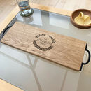 Personalised Family Rosette Serving Board