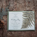 Woodland Botanical Wedding Invitation Suite