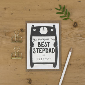Best Stepdad Father's Day Card