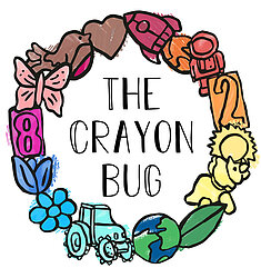 The Crayon Bug Logo