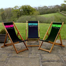 Personalised Banner Deckchair