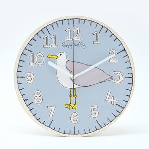 Wall Clock Seagull