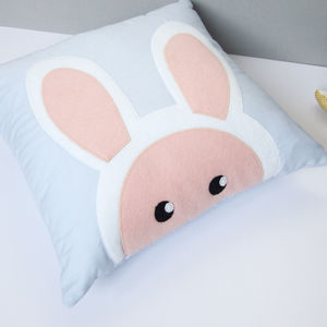 Bunny Cushion Nursery Decor