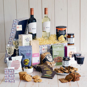 Gluten Free Banquet - drinks hampers