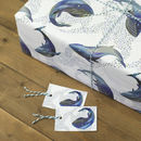 Whales In The Water Wrapping Paper