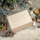 Christmas Eve Box Personalised Flying Reindeer