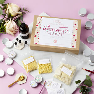 Create And Colour Afternoon Tea Lip Balm Making Kit