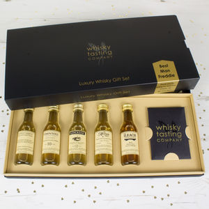 Best Man Whisky Gift Set