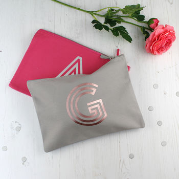 Personalised Monogram Travel Changing Bag