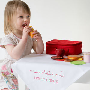Personalised Lunchbox Set Toy