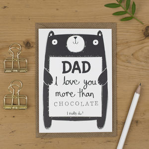 Dad Birthday Card Personalised