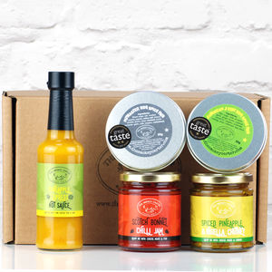 Pick And Mix Hot Sauce And Spice Box