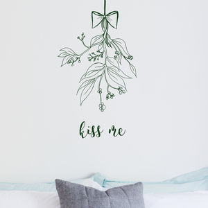 Mistletoe Wall Sticker