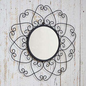Fair Trade Malaika Wire Mirror - bedroom