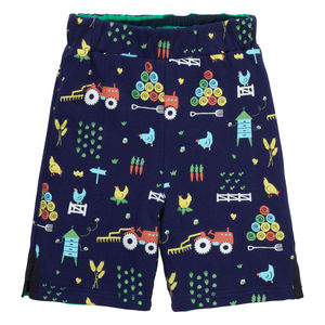 Farm Print Reversible Shorts - shorts