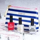 Personalised Merry Christmas Nail Polish