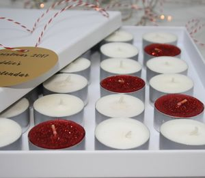 Christmas Scented Candle Advent Calendar