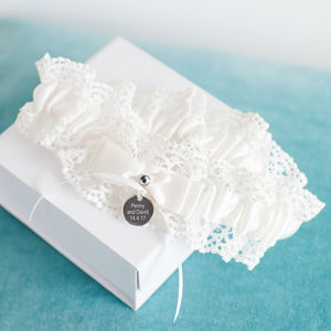 Personalised Wedding Garter