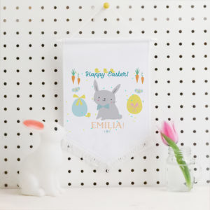 Easter Hanging Decoration Banner 'Cute bunny'