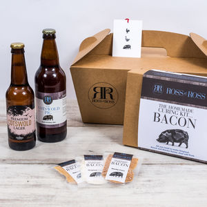 Beer And Bacon Gift Box