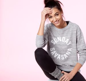 Sunday Savasana Sweatshirt, Grey - sweatshirts & hoodies
