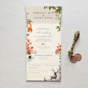 Once Upon A Time Wedding Invitation - invitations