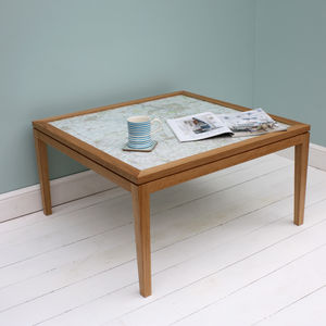 Personalised Map Coffee Table - coffee tables