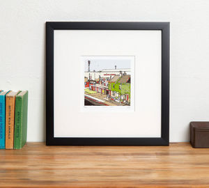 Brentford's Football Ground Griffin Park - posters & prints