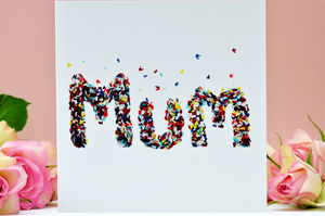 Mum Butterfly Card - all purpose cards
