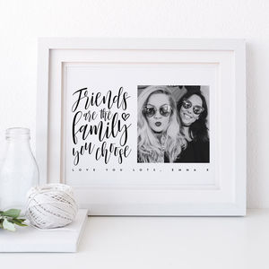 Personalised Best Friend Gift - people & portraits