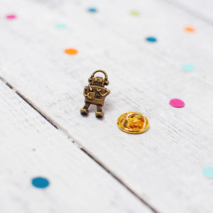 Robot Pin Brooch - pins & brooches