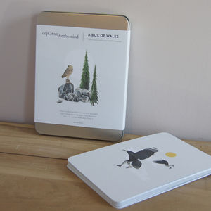 'A Box Of Walks' Illustrated Cards - brand new partners