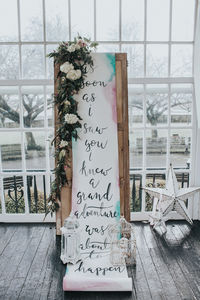 Scroll With Quote - spring styling