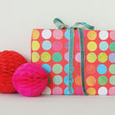 Spots Gift Wrap Two Sheets