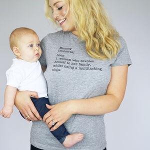 Mummy Definition Tshirt - women's fashion