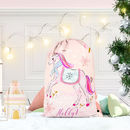 Personalised Unicorn Santa Sack 'Unicorn'