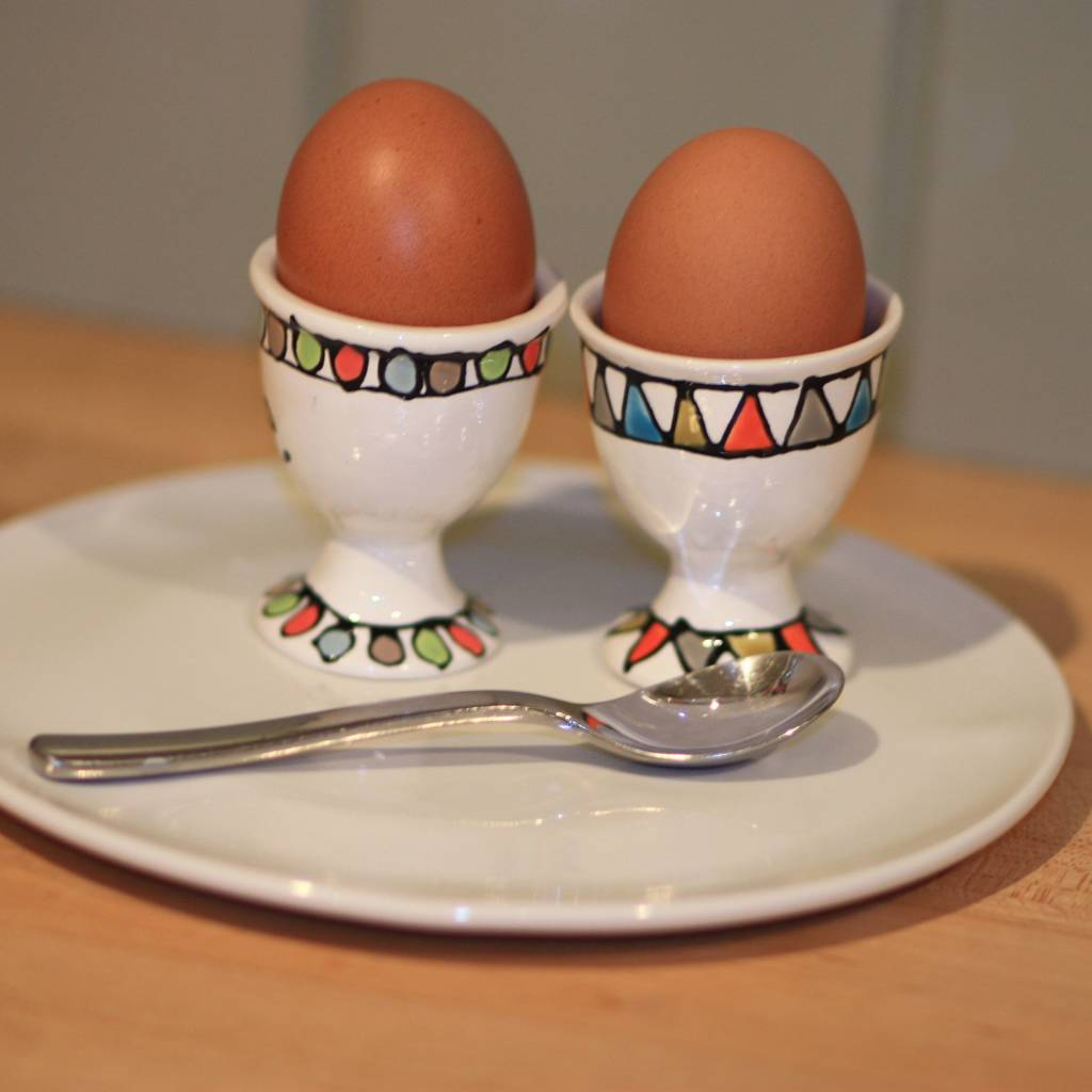 Personalised Hand Painted Egg Cup By Gallery Thea