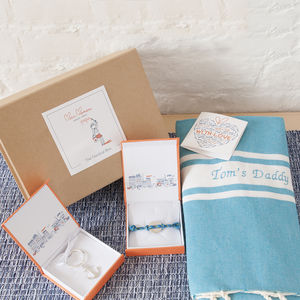 Personalised Nautical Box - bed, bath & table linen