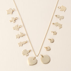 Mix And Match Gold Plated Chain Necklace - baby & child