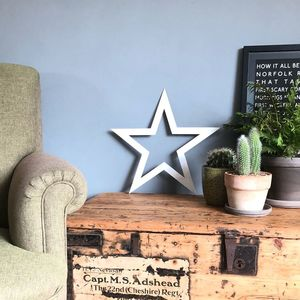 Trendy Metal Barn Star - art & decorations