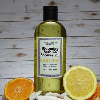 Lemon And Orange Blooming Bath And Shower Oil