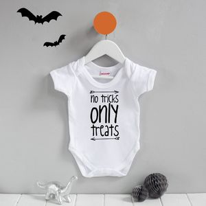 First Halloween Trick Or Treat Babygrow
